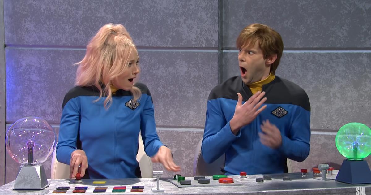 'SNL' imagina un spin-off de Star Trek donde todo es un drama joven y desordenado