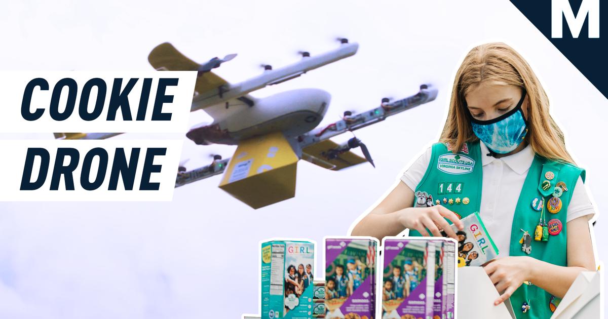 Su próxima caja de Thin Mints podría ser entregada por dron