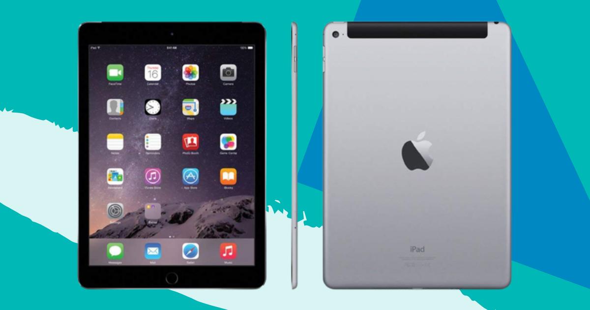 Ahorre en un iPad Air reacondicionado para AT&T o Verizon