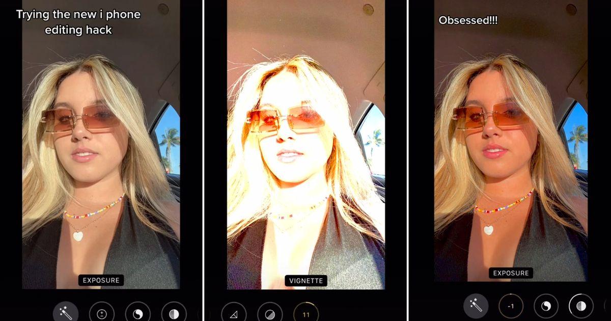 Aquí se explica cómo editar fotos de iPhone usando la fórmula favorita de TikTok