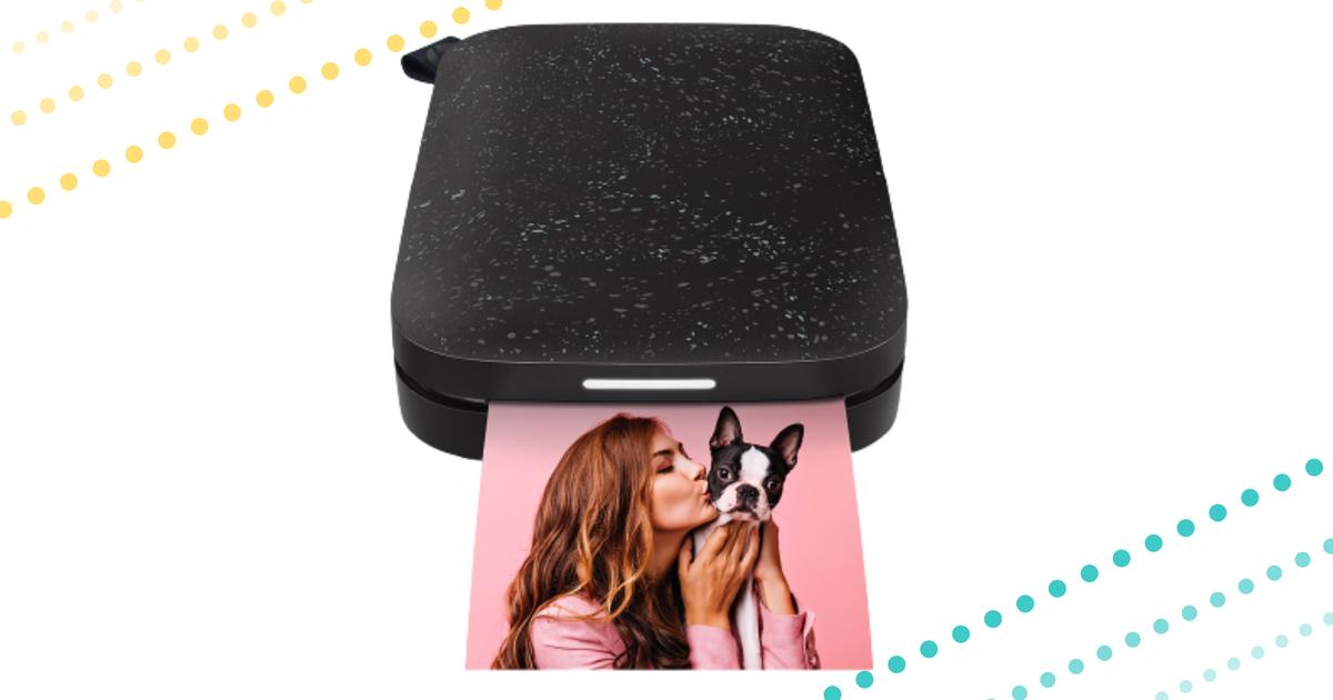 Imprima pegatinas al instante con una impresora Bluetooth portátil