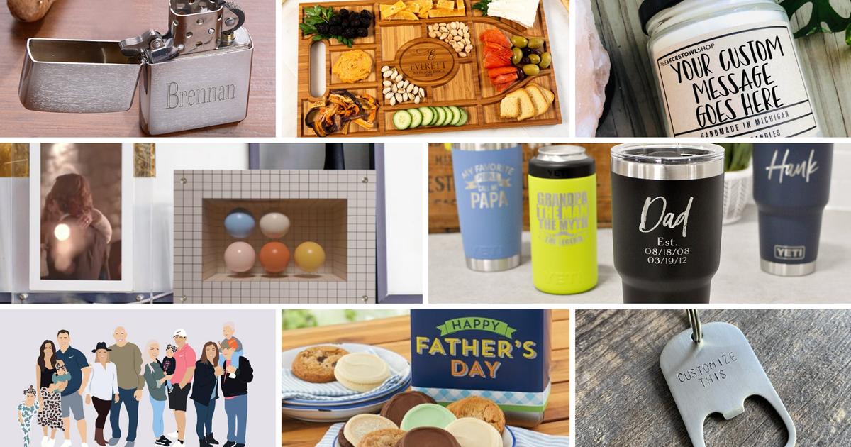 Los mejores regalos personalizados para el Día del Padre 2021: consigue algo único para papá