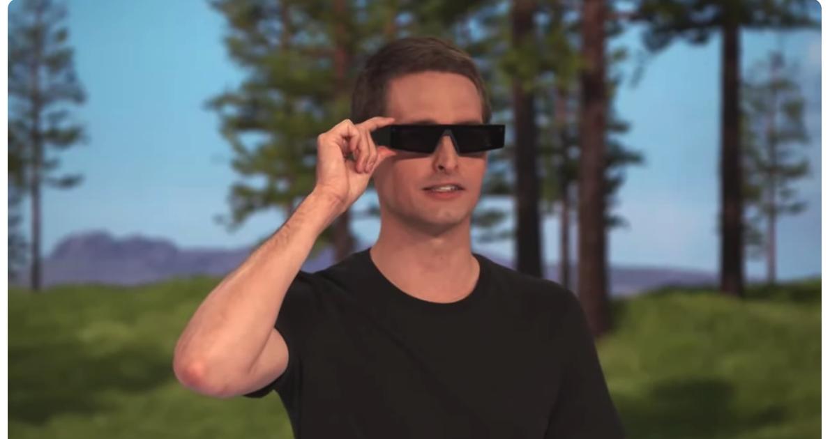 Los nuevos Spectacles de Snap te permiten ver el mundo en AR a través de las lentes