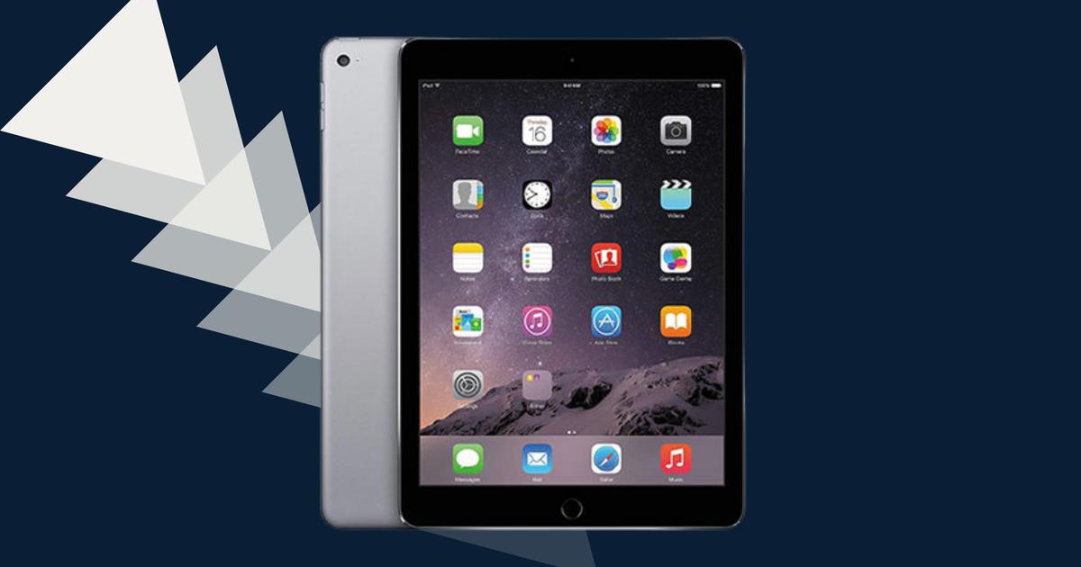 Este Apple iPad Air 2 (reacondicionado) está a la venta con casi un 50% de descuento