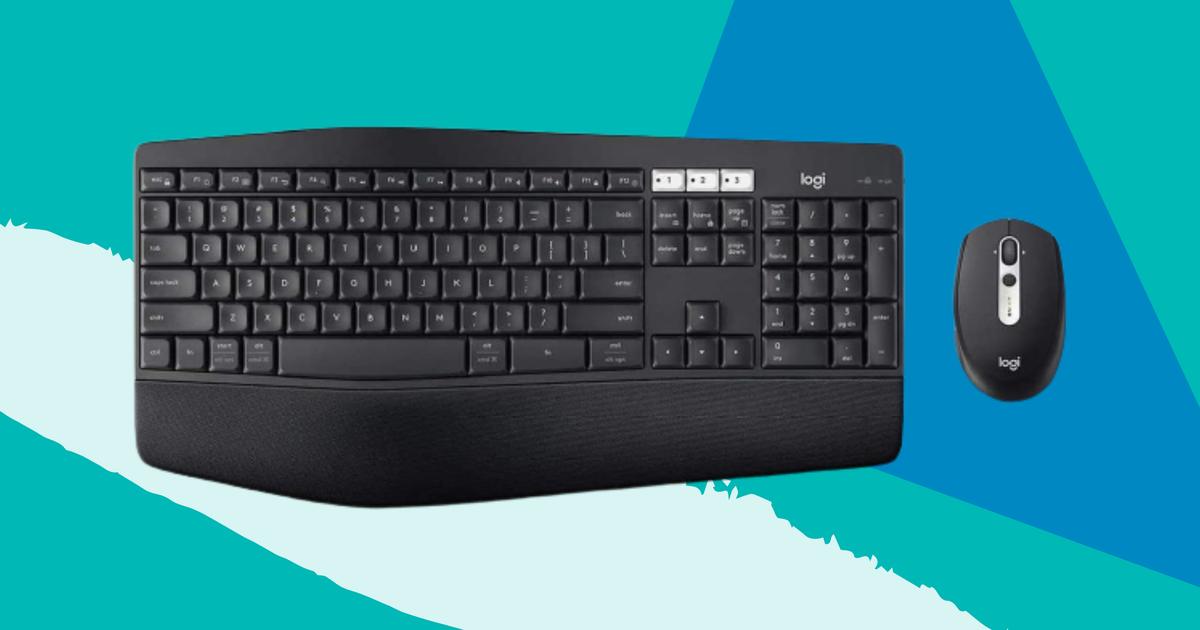 Obtenga un teclado y mouse inalámbricos Logitech reacondicionados con un 65% de descuento