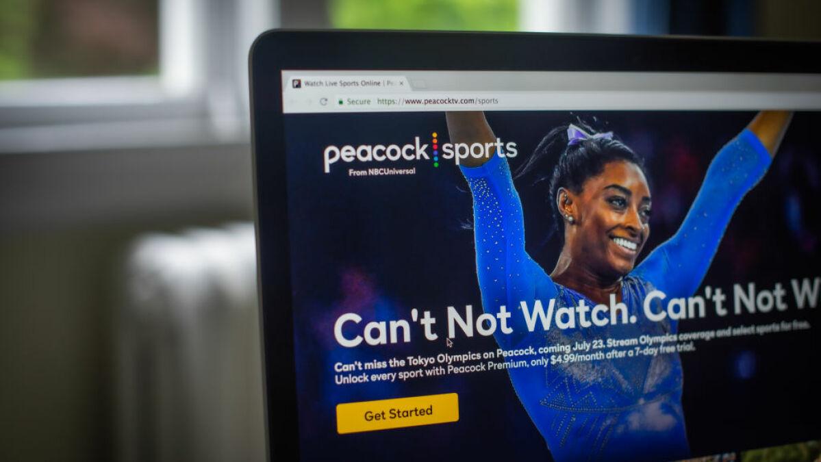 La aplicación Peacock de NBC fue una descarga popular de los Juegos Olímpicos, pero fue un desastre