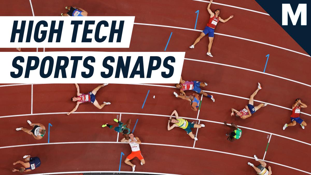 Las cámaras robóticas de alta tecnología encuentran nuevos ángulos para momentos históricos en los Juegos Olímpicos