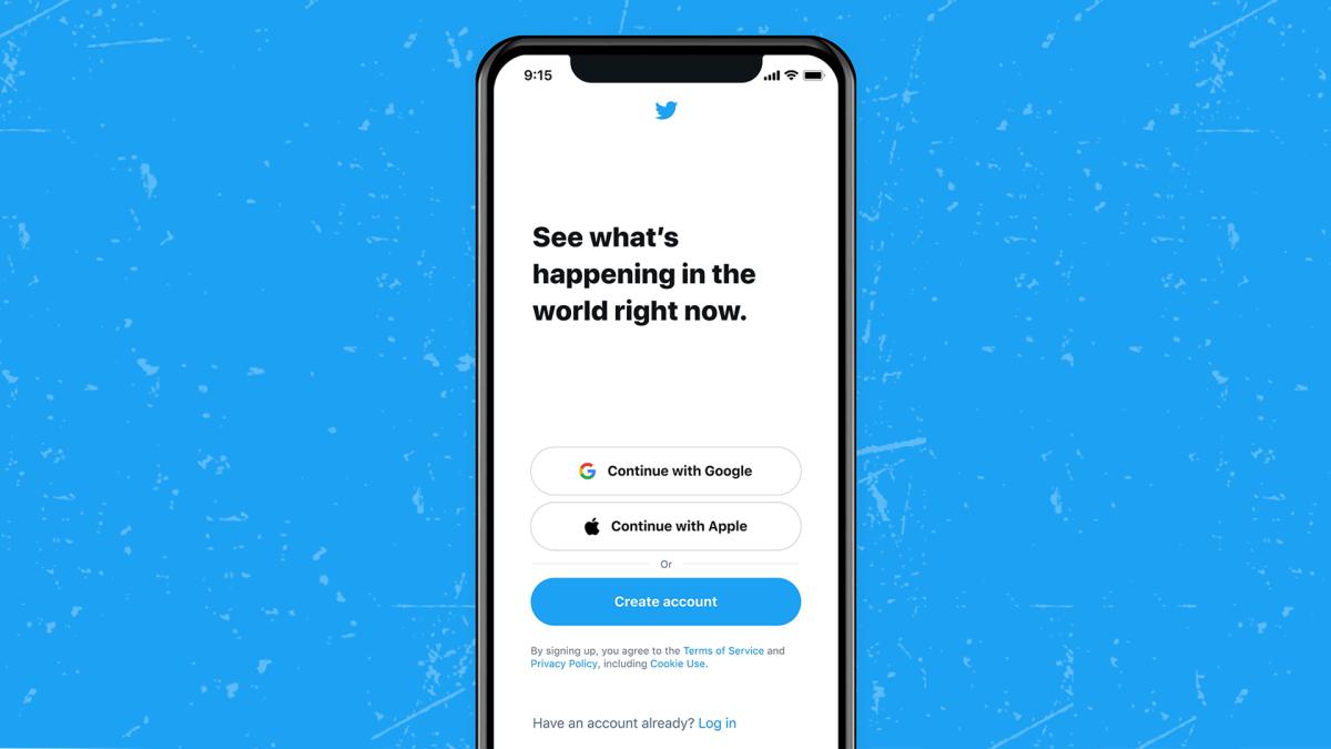 Twitter ahora le permitirá iniciar sesión con su ID de Apple o cuenta de Google