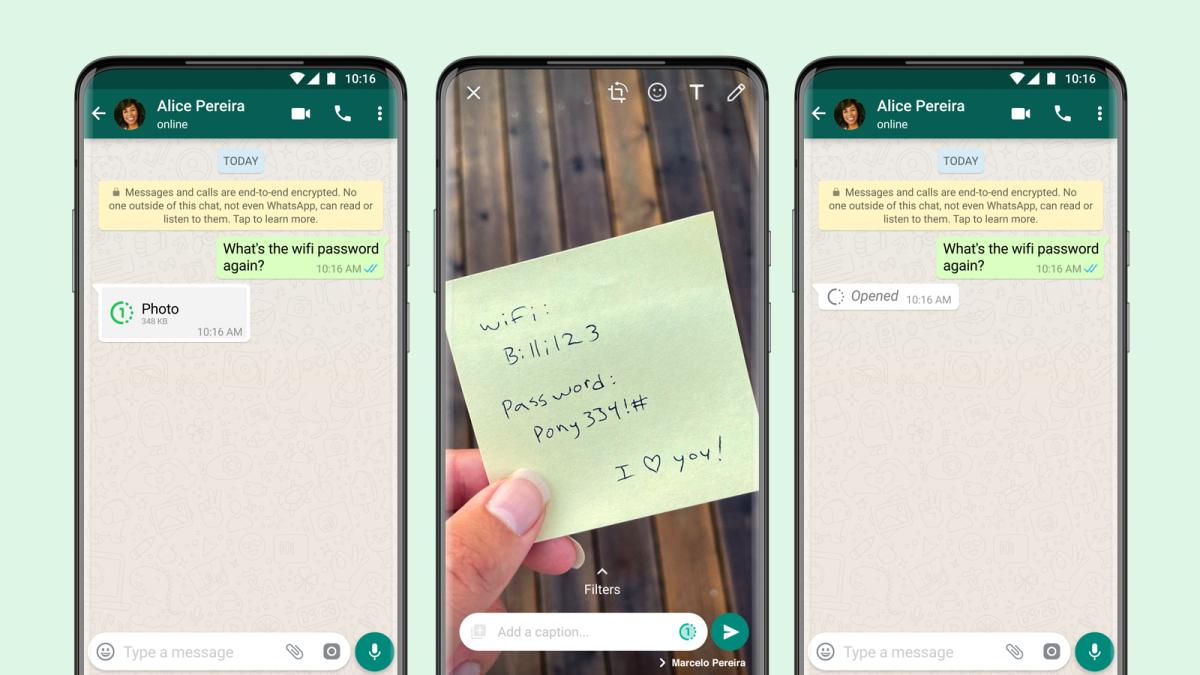 WhatsApp lanza fotos y videos que desaparecen para todos sus mensajes sensibles (y sexys)